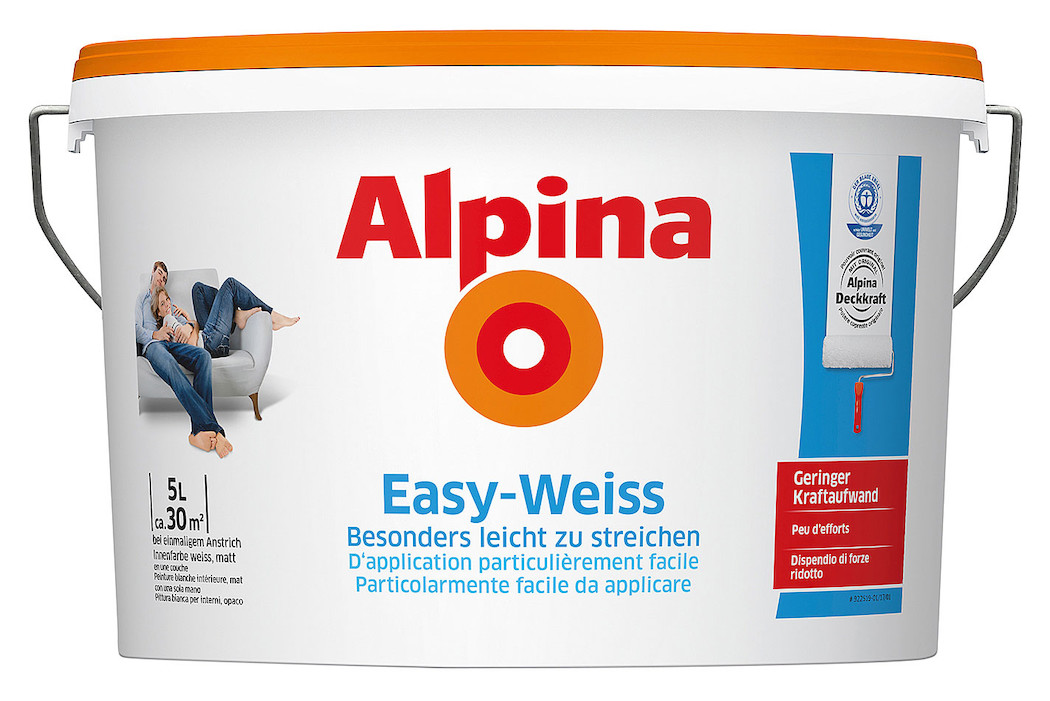 Alpina Easy weiss 5 l