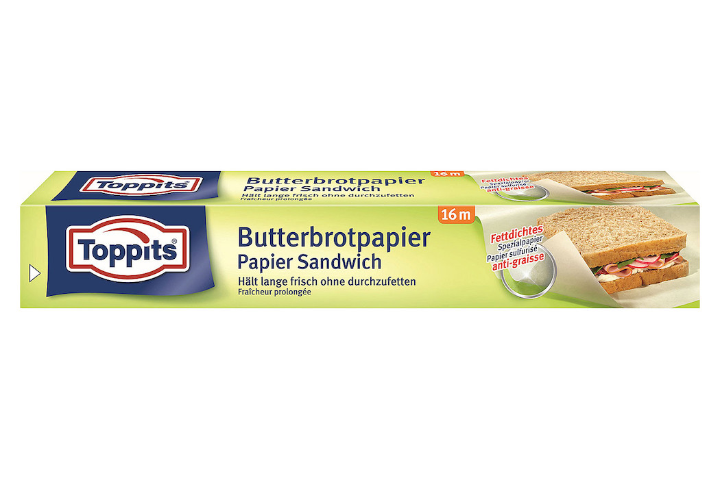 Image of 0oppits Butterbrot-Papier 16M