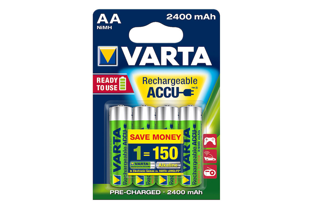 Image of VARTA Power Akku R2U, AA, 4 Stk.