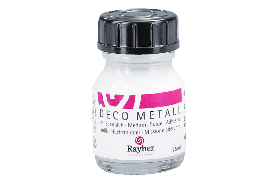 Image of Deco-Metall-Anlegemilch, Flasche 25ml