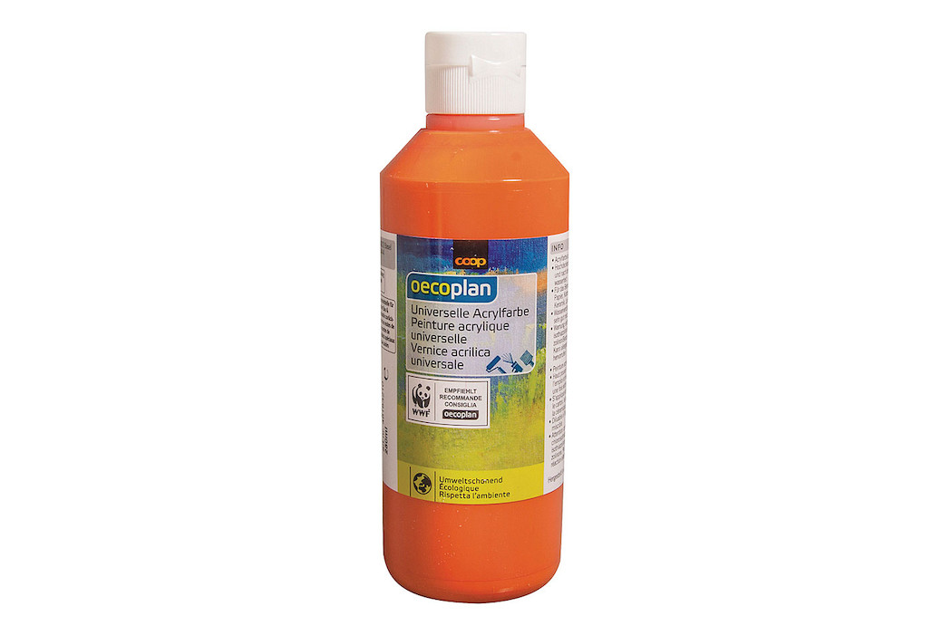 Oecoplan Bastelfarbe 250ml orange