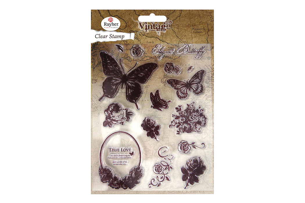 Image of Clear Stamp Butterfly