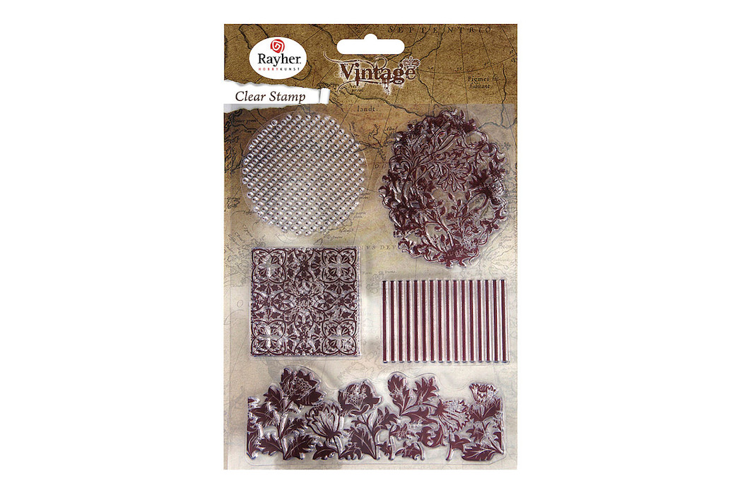 Image of Clear Stamps - Vintage Floral