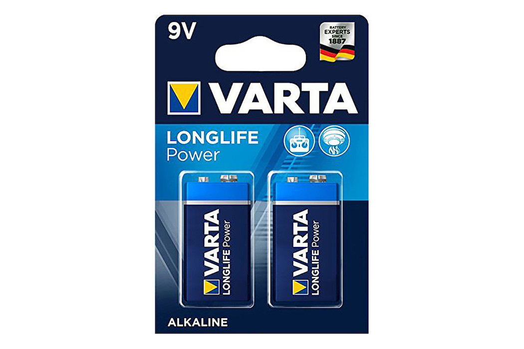 Varta Longlife Power 9V 2 St.