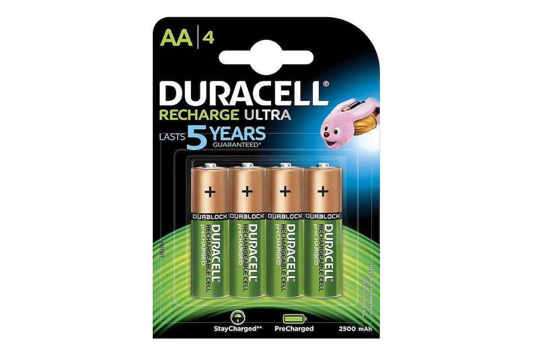 Image of Duracell Recharge Ultra Accu AA (HR06) 2.500 mAh B4 Precharged