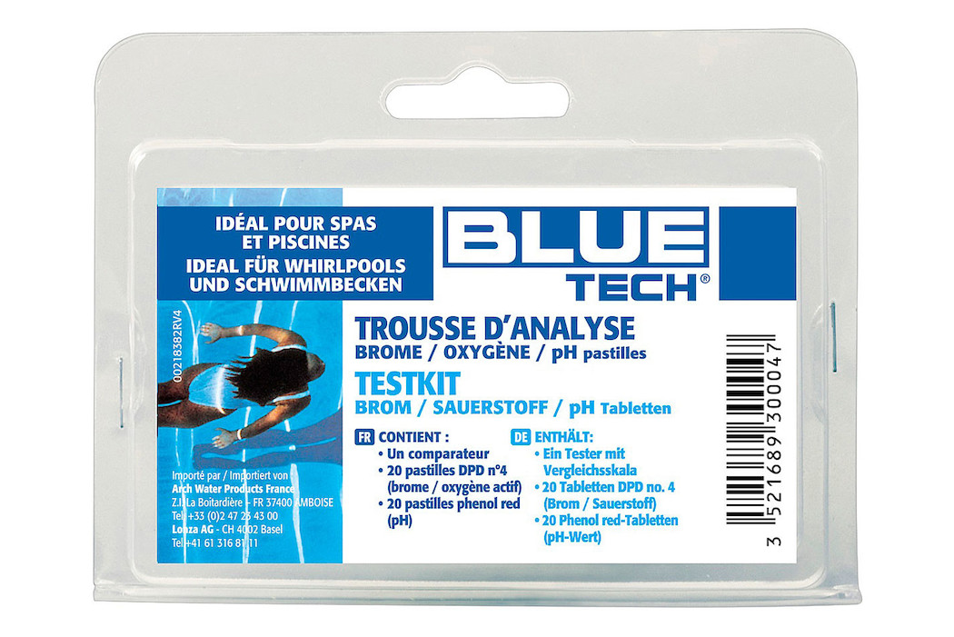 BLUE TECH Pooltester Brom/pH