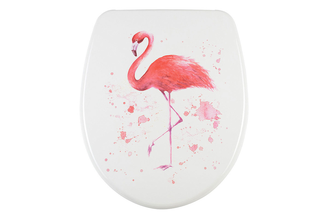 diaqua® WC-Sitz Nice Slow Down Flamingo
