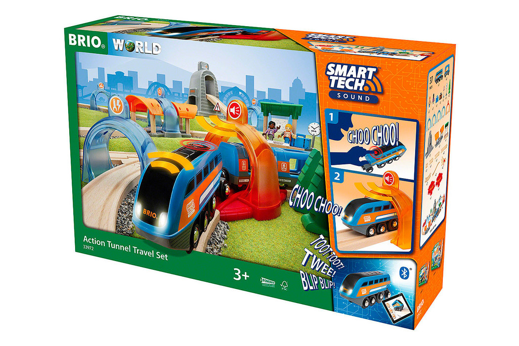 Image of BRIO Smart Tech Sound Action Tunnel